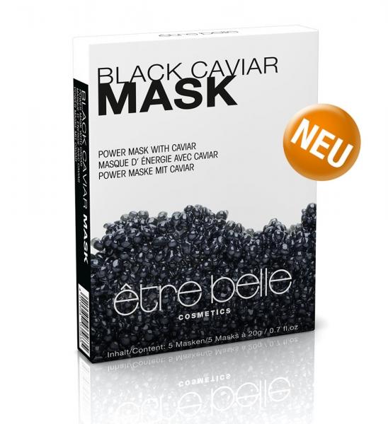 Black Caviar Masken être belle Cosmetics